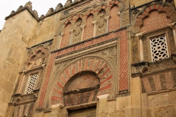 Фасад собора-мечети в Кордове