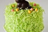 Зайц на лужайке