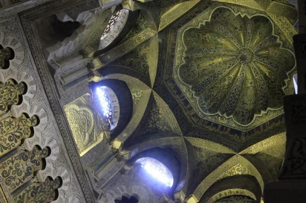 Собор-мечеть в Кордове (интерьер)