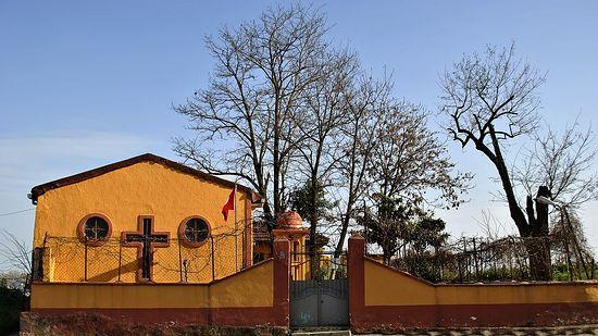 Православный храм в Стамбуле атаковали вандалы
