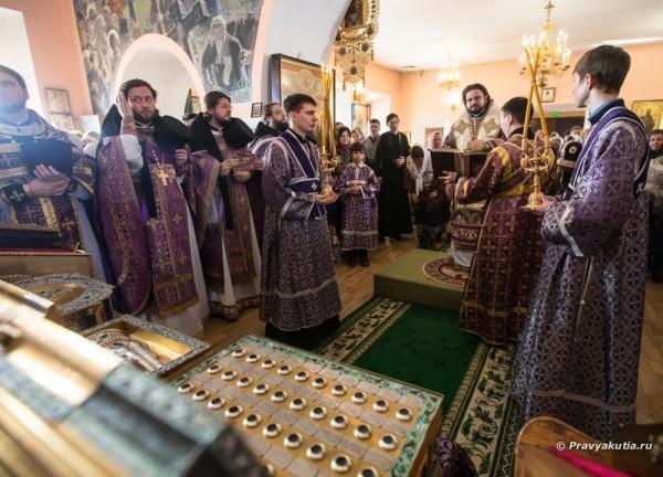 В Якутске совершили заупокойную литию по Тарасу Шевченко