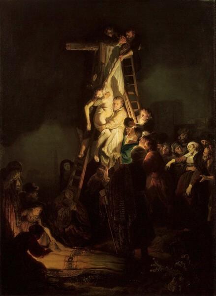 Рембрандт. Снятие со креста
