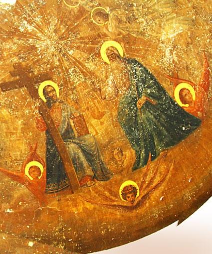 Уникальную роспись под слоем штукатурки нашли в храме Южного Урала