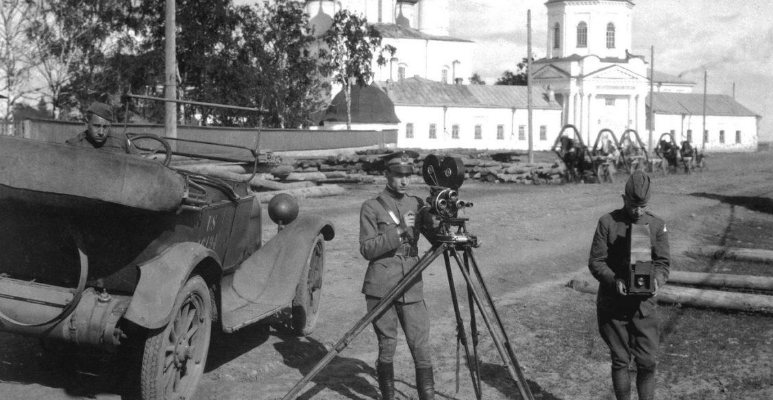 Англичане в Архангельске. 1919 год