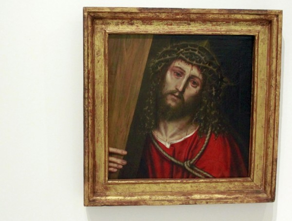В художественном музее Кармен-Тиссен (Малага)