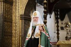 Патриарх Кирилл: Следует укреплять взаимоотношения с исламским миром