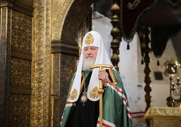 Патриарх Кирилл призвал церковных журналистов не вступать в политическую полемику