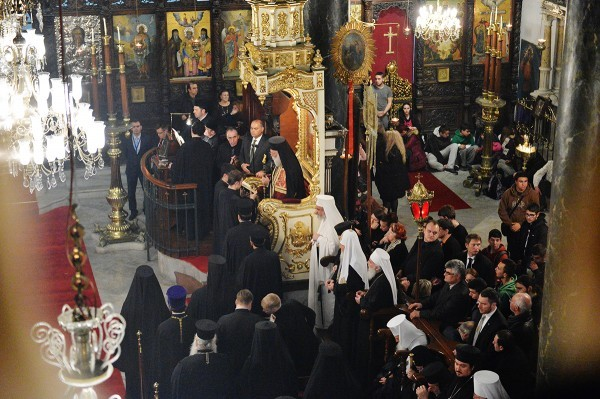 Предстоятели Православных Церквей совершили общую молитву в Стамбуле