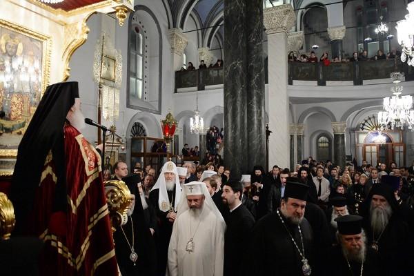 Предстоятели Православных Церквей почтили память Константинопольских Патриархов
