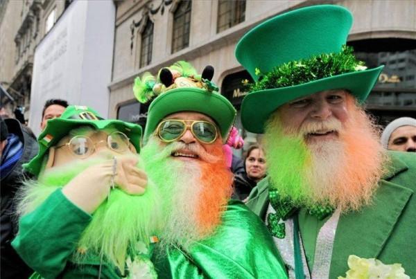 День святого Патрика, зеленые человечки и первый секретарь ЦК КПСС