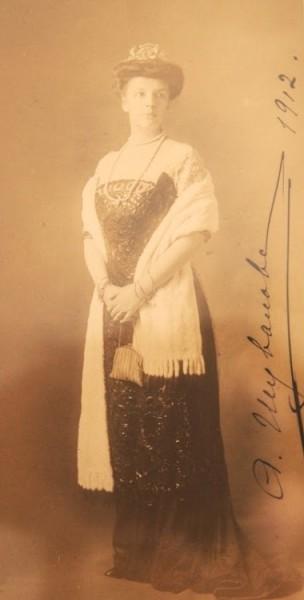 Александра Илларионовна Шувалова, бабушка Майи Ферзен