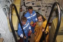МИФИ, командование подлодкой, крещение на глубине ста метров