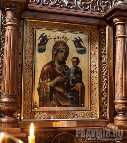 Чудотворная Иверская икона Божией Матери