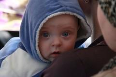 В Шахтинской епархии окрестили первого младенца, спасенного благодаря программе против абортов