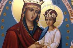 """Церковь чтит память иконы Божией Матери """"Споручница грешных""""."""