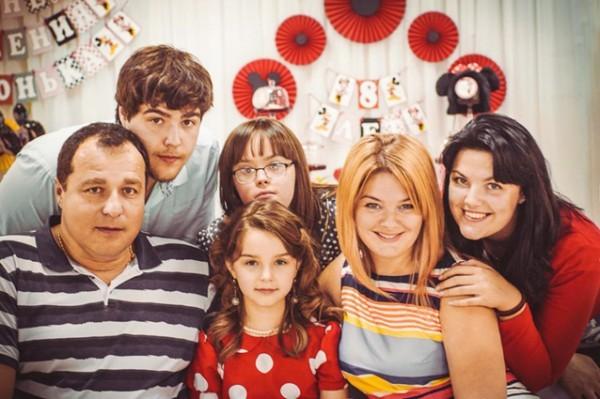 Семья Ланговых. Фото из семейного архива