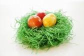 Воронежская епархия предложила прихожанам расписать 2-метровое пасхальное яйцо
