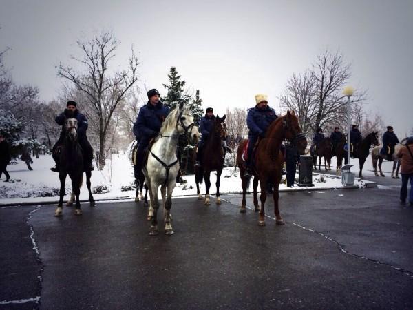 Священники Астраханской епархии ушли в конный поход с казаками