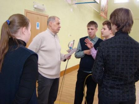 В православной гимназии открыли секцию исторического фехтования