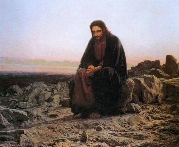 «Христос в пустыне». Иван Николаевич Крамской, 1872 год