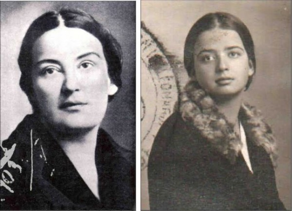 Елизавета Скобцова (слева), Гаяна (справа)