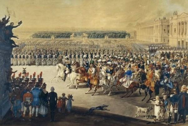 Вступление союзных войск в Париж