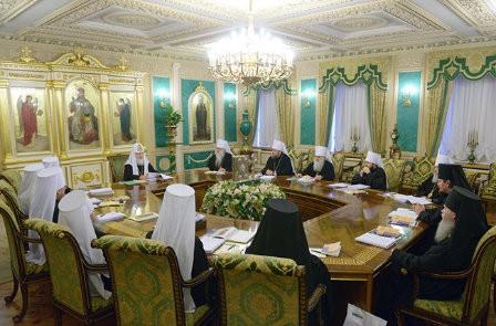 Заявление Священного Синода Русской Православной Церкви в связи событиями на Украине