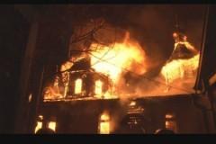 В Хабаровске сгорел храм Александра Невского и убили благотворителя Хабаровской епархии, помогавшего строить этот храм