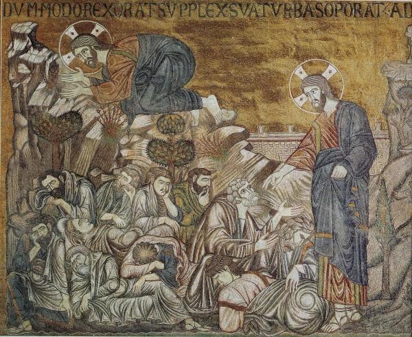 Мозаика собора Сан Марко. XIII в. Венеция, Италия