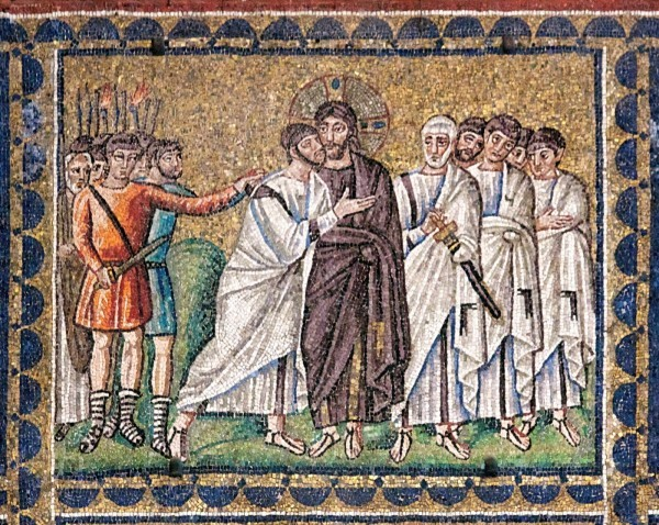 Мозаика церкви Сан Аполлинаре Нуово. 530-е годы. Равенна, Италия