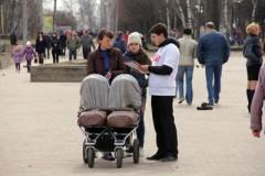 Акция в поддержку материнства и многодетности прошла в Смоленске