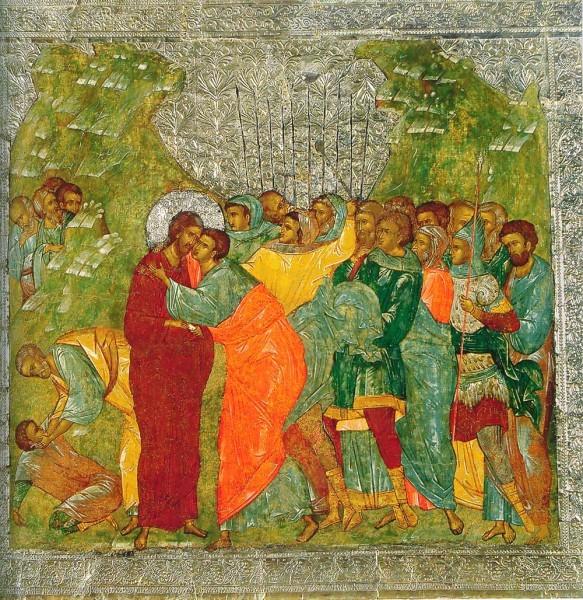 Икона из празднич. чина иконостаса Новгородского Софийского собора. 1509 г. Новгородский музей-заповедник