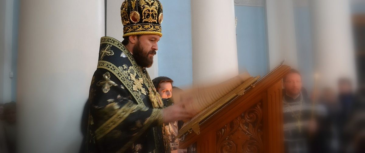 Митрополит Иларион: Любовь к людям возвела Господа на Крест