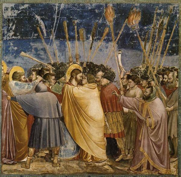 Джотто ди Бондоне. Фреска капеллы дель Арена. 1304-1306 г. Падуя, Италия