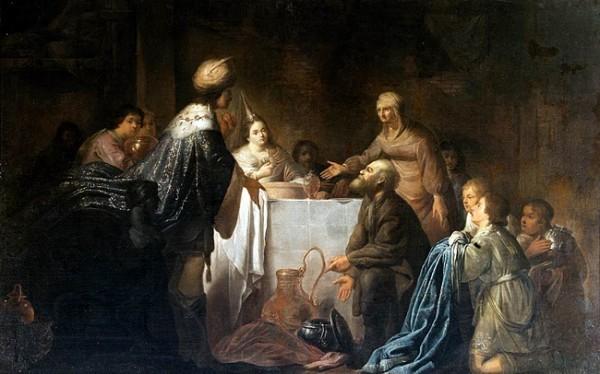 В. де Портер. Иосиф Прекрасный и его братья. XVII в. Голландия.