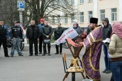 Байкеров Луганска благословили на мотосезон