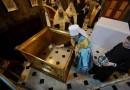 Митрополит Онуфрий освятил престол трапезного храма Киево-Печерской Лавры