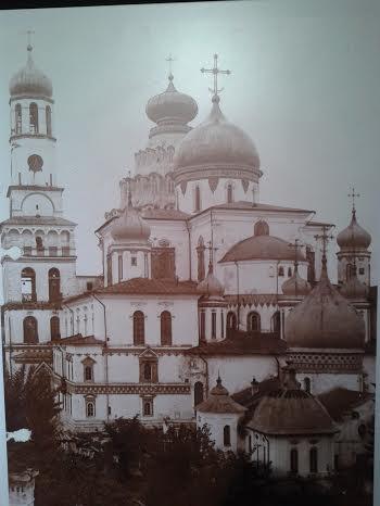 Воскресенский собор Новоиерусалимского монастыря. Фото начала XX века