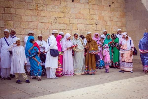 Эфиопские христиане в Старом городе