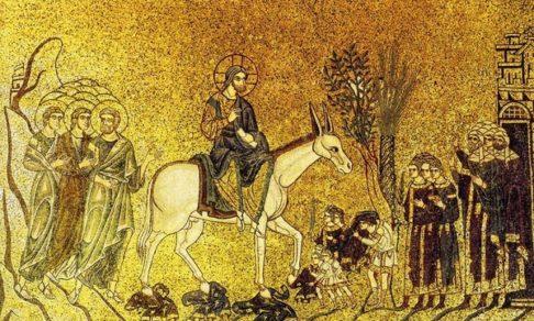 Безмолвная проповедь - о чем говорят иконы воскресения Лазаря и входа Господня в Иерусалим
