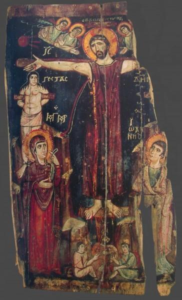 Икона. IX в. Монастырь св.Екатерины, Синай