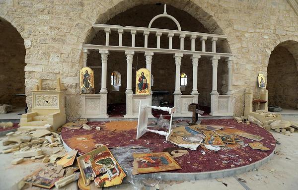 В Сирии исламисты осквернили храм св. Марии