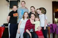 Многодетная мама Елена Петина: Главное – чтобы папа всегда был довольный!
