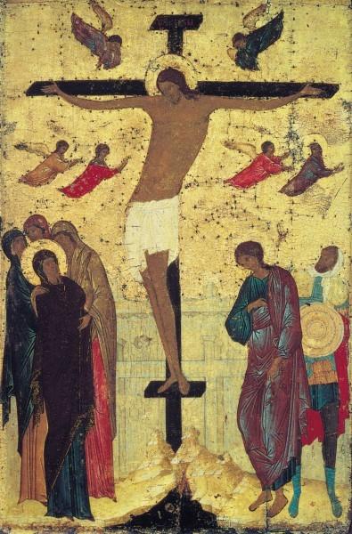 Дионисий. Икона из празднич. чина Троицкого собора Павло-Обнорского монастыря. Около 1500 г. ГТГ, Москва