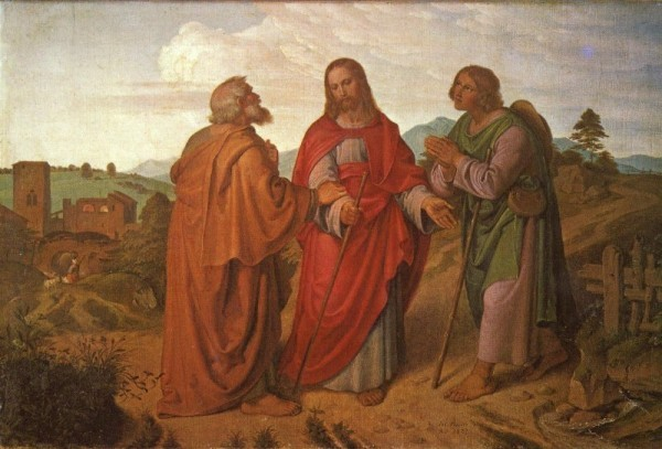 Путь в Эммаус. Йозеф фон Фюрих