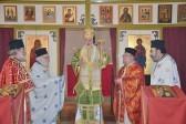 В Нидерландах совершили первую Литургию в храме в честь новопрославленного афонского святого