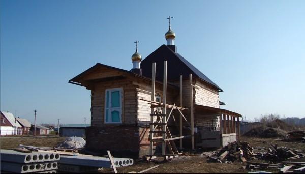 Жительница Кемеровской области строит храм на свою пенсию