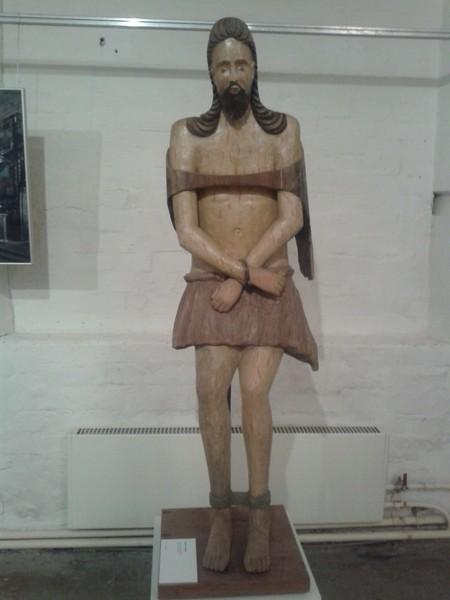 Христос в темнице XVIII век. Вологодская область