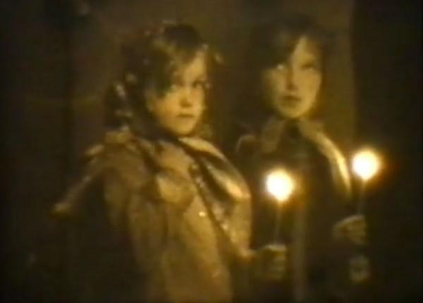 Богослужения Страстной Седмицы 40 лет назад (кинохроника)