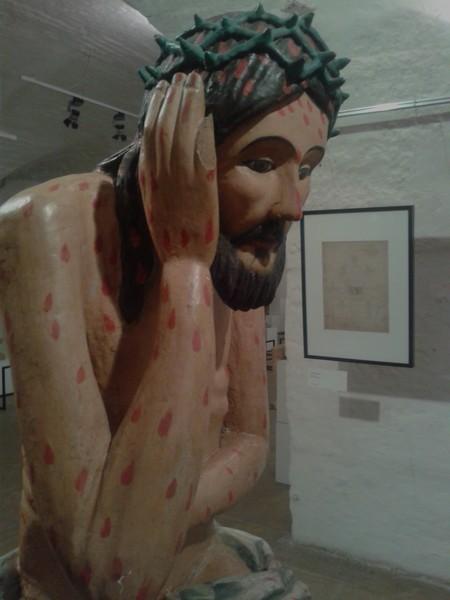 Христос в темнице. Поволжье. XVIII-XIX век